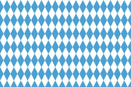 White and blue diamond shape pattern background - vector EPS 10. Иллюстрация