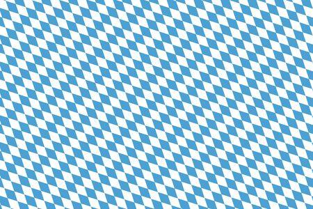 White and blue diamond shape pattern background - vector EPS 10. Çizim
