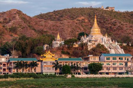 Ancient city of Sagaing, Mandalay, Myanmar.