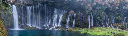 The Shiraito waterfall in Fujinomiya, Shizuoka, Japan. Stock Photo