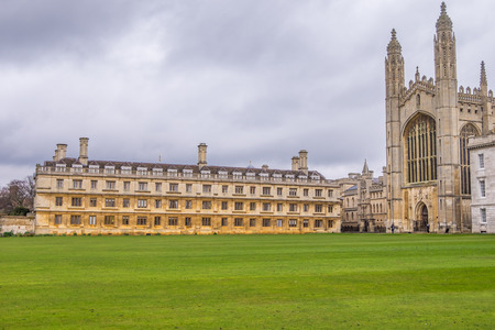 Oxford, UK - December 21, 2016 : View of historic university of Oxford, England. Oxford is known as the home of the University of Oxford.