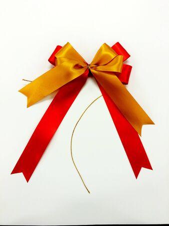 ribbin: Red and gold Ribbon