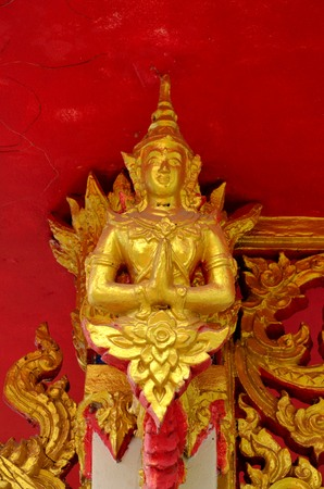 minister: thai temple Stock Photo