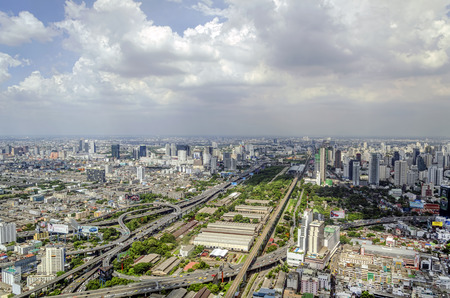 bangkok city view photo