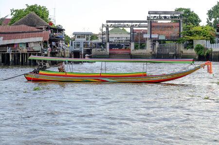 chao: boat at chao phraya river