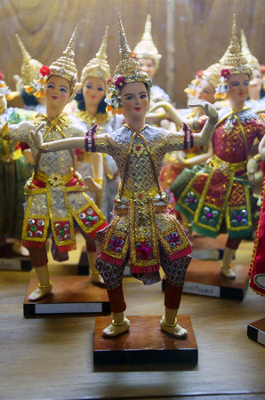 Thai Ramayana Dolls photo