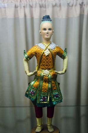 Thai Ramayana Doll photo