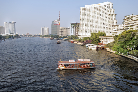 alluvial: BANGKOK january 2 : Chao Phraya River, Chao Phraya River is a major river in Thailand, with its low alluvial plain forming the centre of the country.on january 2, 2015 in Bangkok, Thailand