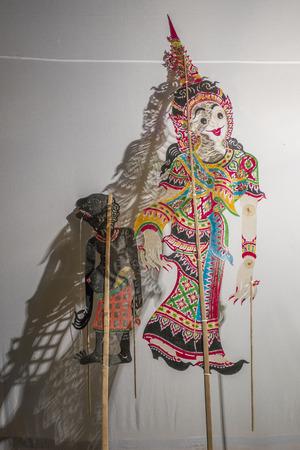 puppets: Nang Talung puppets