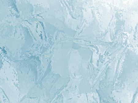ice surface: illustrated frozen ice texture Stock Photo
