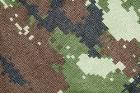 camoflauge: camouflage fabric texture Stock Photo