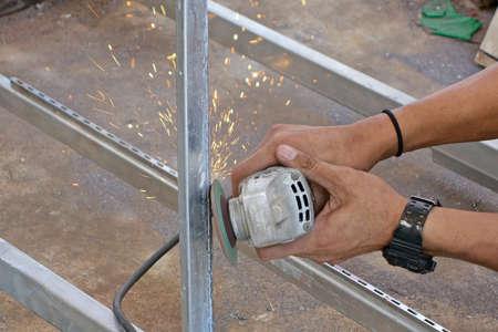 machines: hand using grinding machines