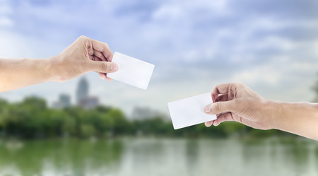 exchanging: hand exchanging a card