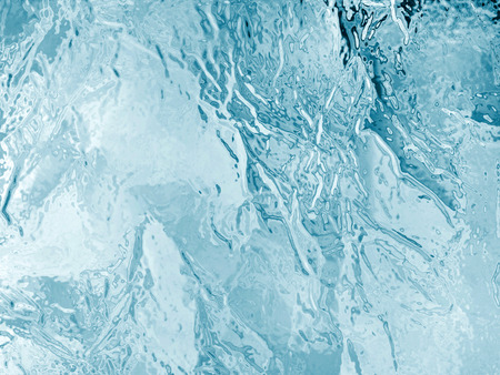 geïllustreerde bevroren ijs textuur