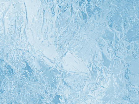 illustrated frozen ice texture Stock Photo