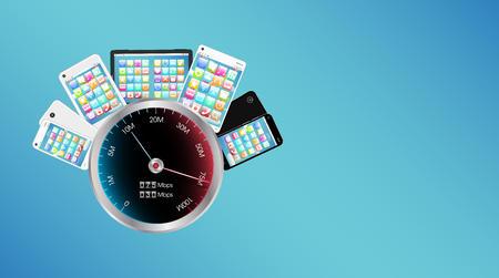 ultra: smartphone and tablet with internet speed meter