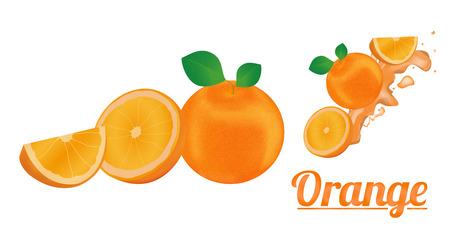 dewdrop: orange