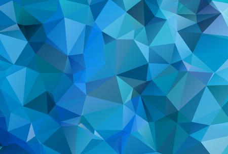 カラフルな三角形の抽象的な背景