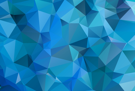 crystals: Abstract Colorful Triangular Background