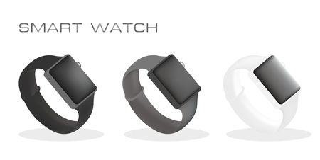 smart: Smart watch Illustration