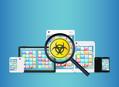 detected: smartphone and tablet detected virus