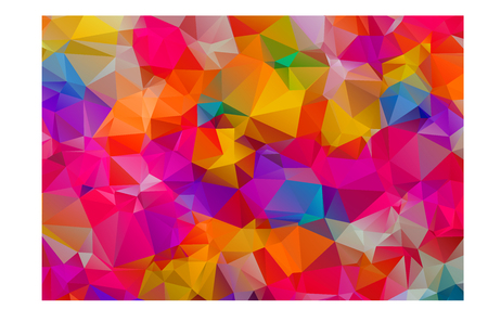 Abstract Colorful Triangular Background Stock Vector - 54462488