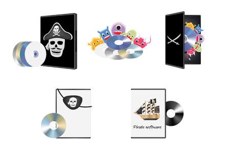 pirated: Pirate piracy software