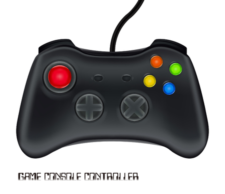 game console controller vector Illustration