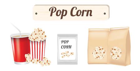 movie background: Pop corn
