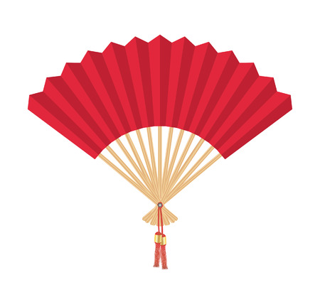Chinese Fan Vectores
