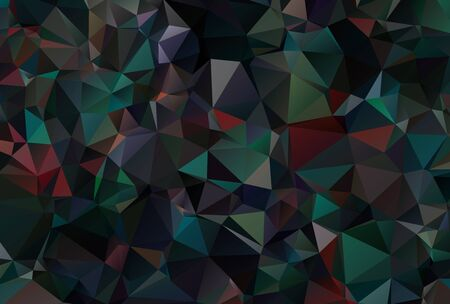 triangular: Abstract Colorful Triangular Background
