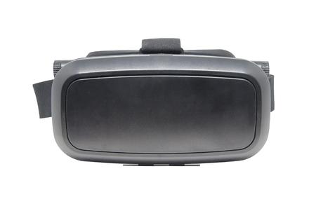 virtual reality simulator: virtual reality glasses isolated