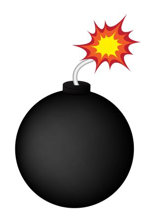 Vector bomb before explosion