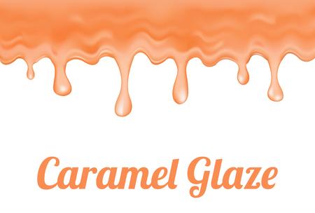glaze: caramel glaze