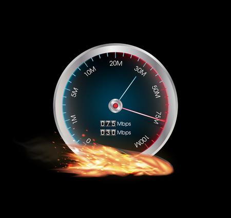 speed test: internet speed test meter