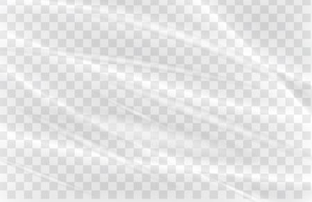 warp: transparent plastic warp Illustration