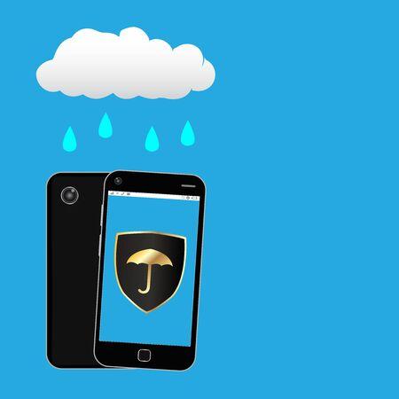 waterproof: smartphone with waterproof