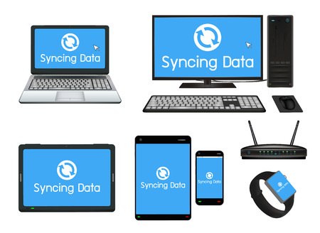 syncing: smart device and computer syncing