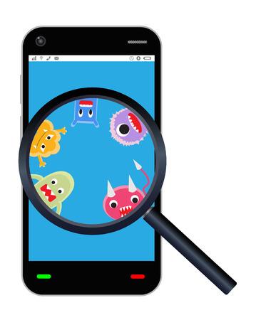 detected: smartphone detected a virus