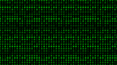binary numeral number background Illustration