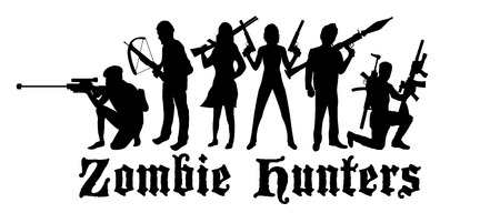 hunters: halloween zombie hunters team