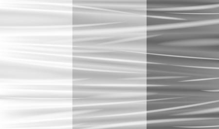 transparent plastic warp Illustration