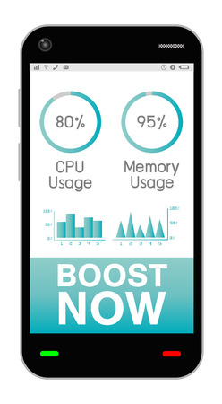 boost: smartphone with task manage boost application
