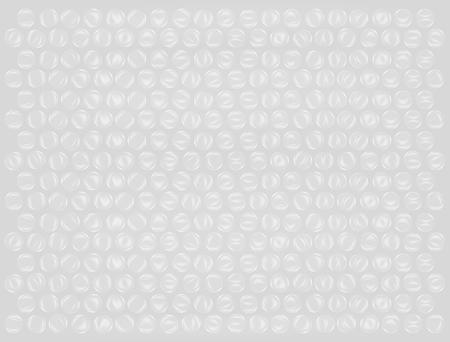 Echt Kunststoff Luftpolsterfolie Hintergrund Vektor