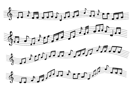 Floating sample random music note not match any song Ilustração