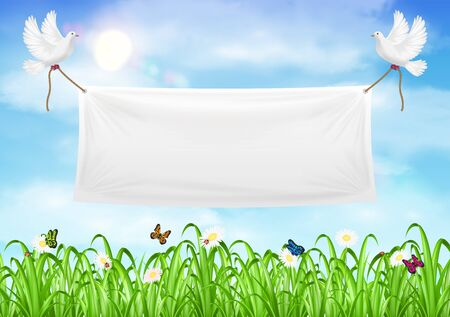 Blank Vinyl Banner Stock Photos Royalty Free Business Images - Blank vinyl banners