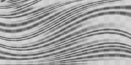 Transparent plastic warp texture design
