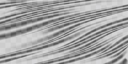 Real transparent plastic warp texture background
