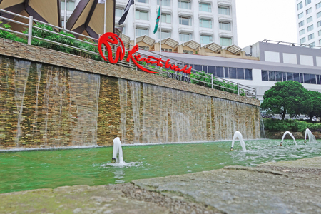 Malaysia, Kuala Lumpur - 16 October 2018: Resorts World Genting is  integrated hill resort development comprising hotels, shopping malls, theme parks and casinos in malaysia