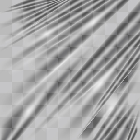a real transparent plastic warp texture background